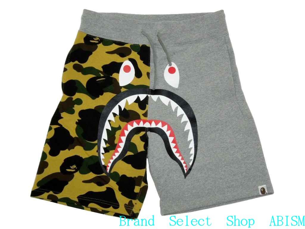 da74a8054b brand select shop abism: A BATHING APE (APE) 1 ST CAMO SHARK SWEAT SHORTS  shark スウェットショーツ BAPE bape | Rakuten Global Market