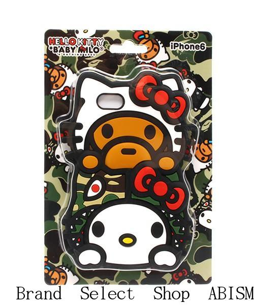 A BATHING APE (APE) x HELLO KITTY CANDIES MILO ON HELLO KITTY IPHONE6 CASE