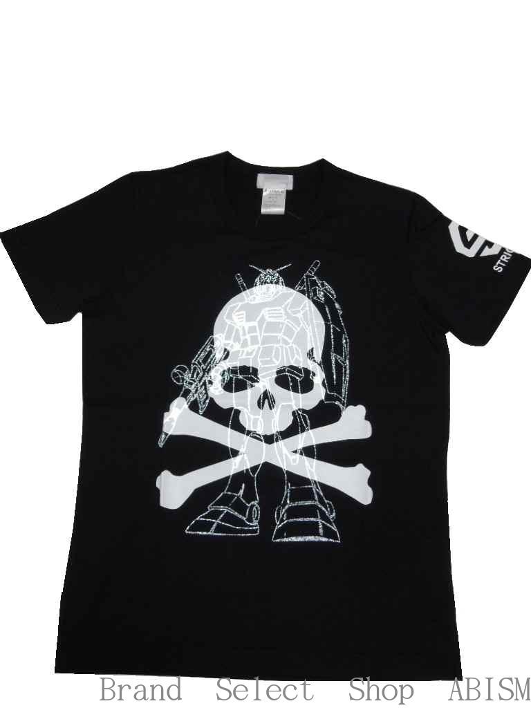 mastermind JAPAN(マスターマインドジャパン)x STRICT-G(ストリクトジー)コラボレーション Tシャツ(Standing ver/スタンディング柄)【2015年SS】【Tshirt】【ブラック】【日本製】【新品】【GUNDAM/ガンダム】