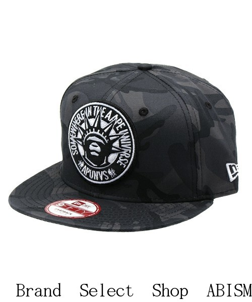 8e047098a8e AAPE BY A BATHING APE (EAP by bathing APE) AAPE NEW ERA CAP  Black  CAP    Hat  New