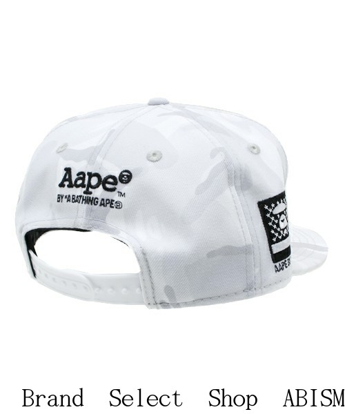 715dba2ba0c (EAP by bathing APE) AAPE NEW ERA CAP  White  CAP   Hat  New  The front AAPE  NYC motif embroidered emblem