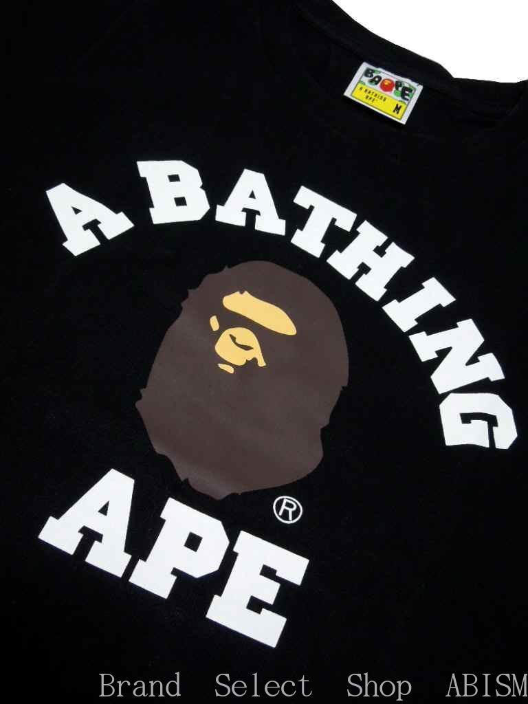 bathing ape shirt black