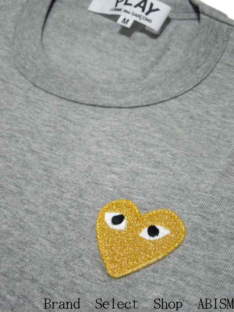 3cd67a95e Latest gold heart TEE of PLAY! In a style any in simple one. It is one  piece of the popularity that it is easy to match!