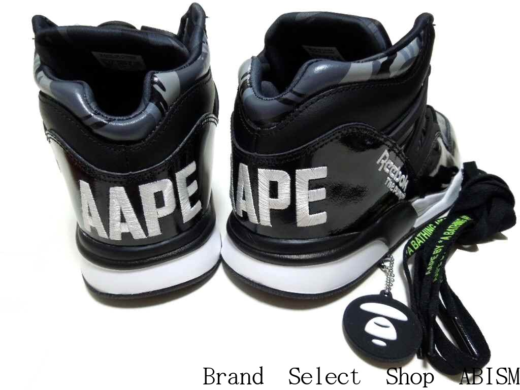 fb7e50a56ee1 Produced by A BATHING APE And the young collection AAPE BY A BATHNIG APE  With the collaboration of the Reebok CLASSIC Is the PUMP OMNI LITE (pump  Omni Lite) ...