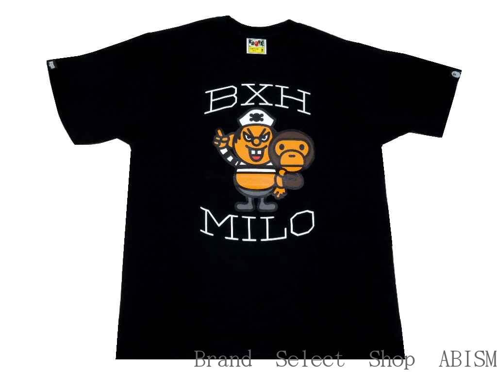 bdbf047f1 A BATHING APE (APE) X BOUNTY HUNTER (the bounty hunter) BAPE×BXH BABY MILO  TEE 02 [T-shirt] [Black] [New] [Made in Japan] [BAPE / bape]