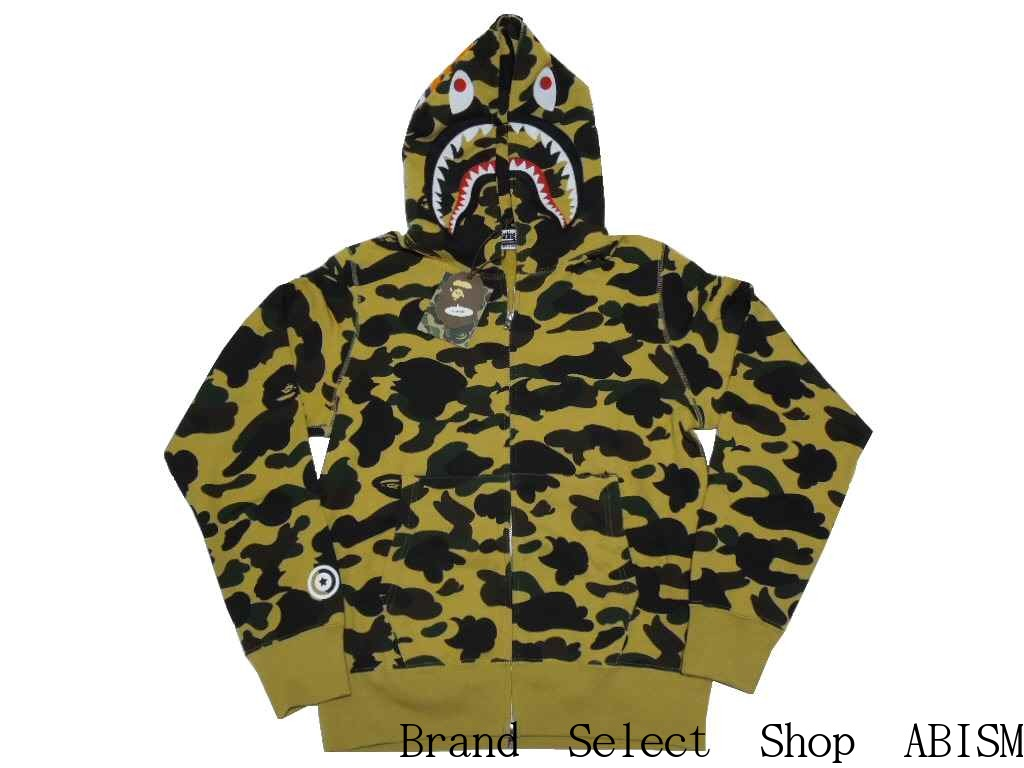 99a34a387c93 brand select shop abism  A BATHING APE (APE) 1 ST CAMO SHARK FULL ZIP  HOODIE shark full zip hoodies BAPE (BAPE).