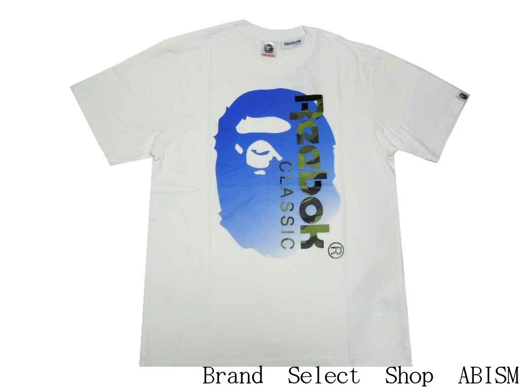 511b80c2a brand select shop abism: A BATHING APE (APE) x Reebok CLASSIC (Reebok  classic) BAPE X Reebok TEE 01   Rakuten Global Market