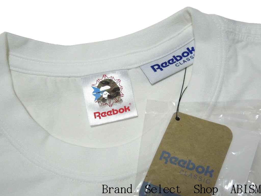 A BATHING APE (エイプ) x Reebok CLASSIC (리 복 클래식) BAPE X Reebok TEE 01