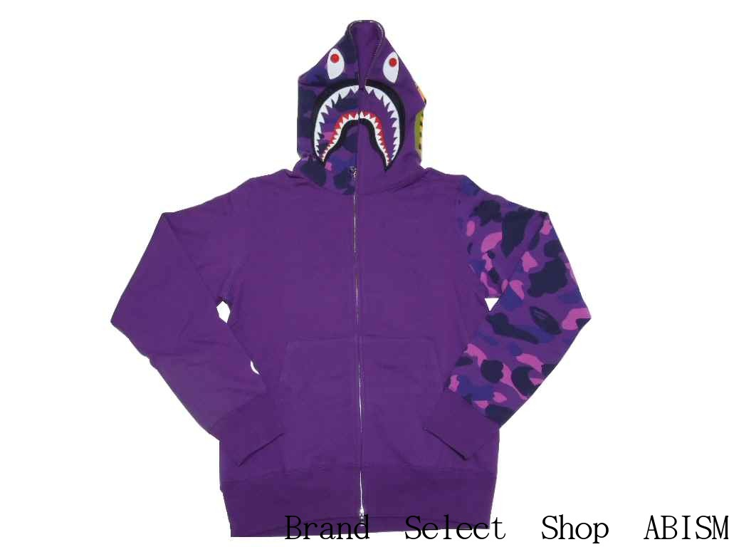 d0bf1e33bd60 brand select shop abism  A BATHING APE (APE) COLOR CAMO SHARK FULL ZIP  HOODIE shark full zip hoodies BAPE (BAPE)