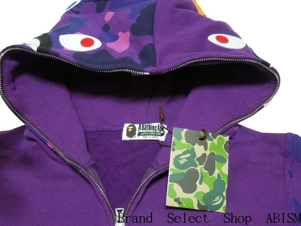 775a7da090c1 A BATHING APE (APE) COLOR CAMO SHARK FULL ZIP HOODIE shark full zip hoodies  BAPE (BAPE)