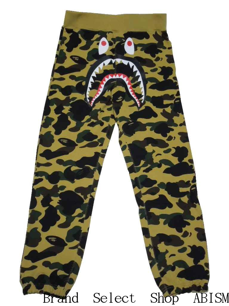 uk store luxuriant in design aesthetic appearance A BATHING APE (APE) 1st CAMO SHARK SWEAT PANTS