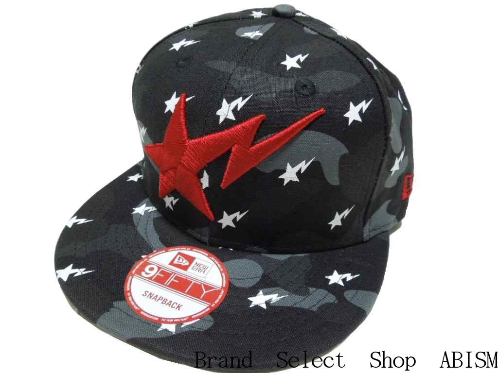 brand select shop abism  A BATHING APE (APE) x BLACK SCALE (black scale)  BLACK SCALE CAMO SNAP BACK CAP snap back Cap BAPE (BAPE)  da3b5761890