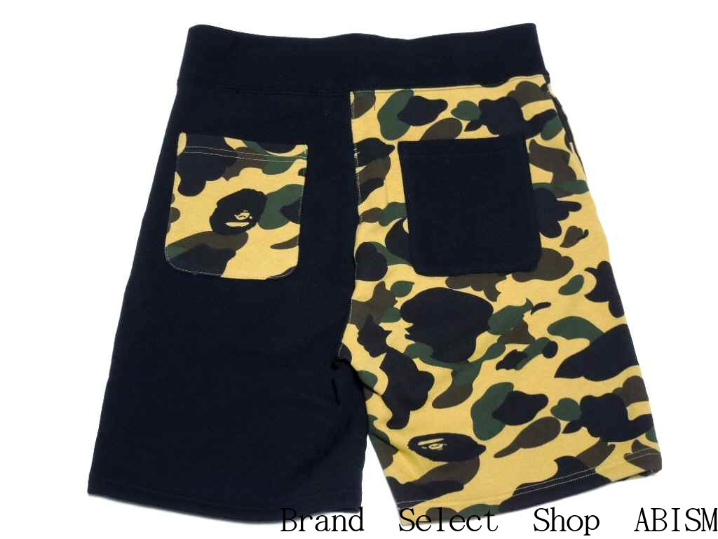 A BATHING APE (エイプ) 1ST CAMO SHARK SWEAT SHORTS 상어 스웨트 반바지 BAPE/ベイプ