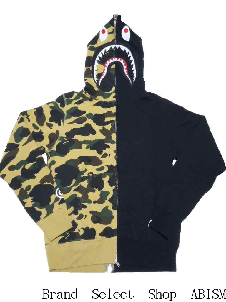 c930f8a1958f brand select shop abism  A BATHING APE (APE) 1 ST CAMO HALF SHARK FULL ZIP  HOODIE shark full zip hoodies BAPE (BAPE).
