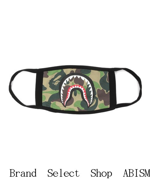 A BATHING APE (エイプ) ABC SHARK MASK (샤 크 마스크) BAPE (ベイプ)