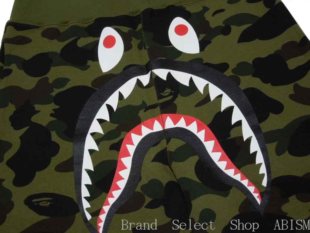 Brand select shop abism a bathing ape ape 1st camo shark sweat shorts shark swettshorts bape - Camo shark wallpaper ...
