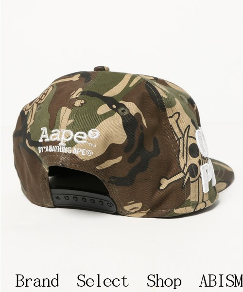 AAPE BY A BATHING APE (bathing ape EAP by) x ONE PIECE (one piece) collaboration CAP