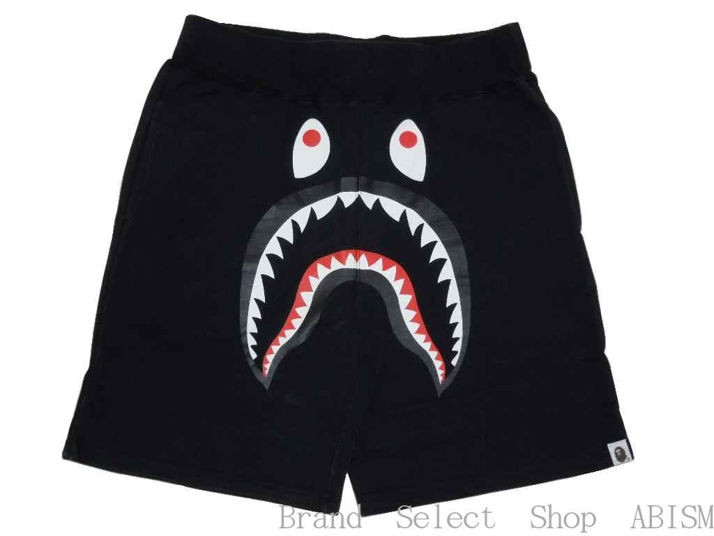 2a3cf60b brand select shop abism: BAPE / bape swettshorts shark SHARK SWEAT SHORTS A BATHING  APE (APE) | Rakuten Global Market