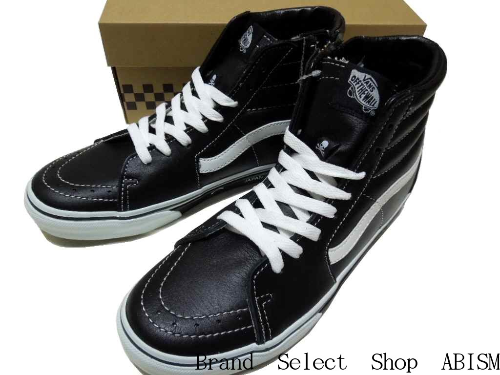 55a5055879 mastermind JAPAN (mastarmindjapan) x VANS (vans) Collaboration ( collaboration) SK8-HI (skating high)  Shoes   Sneakers   Black   New  MMJ  SKULL