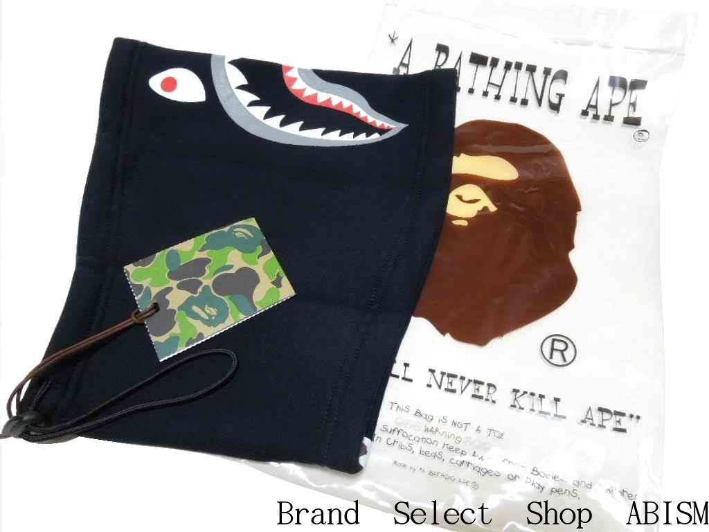 A BATHING APE (エイプ) SHARK SWEAT NECK WARMER (샤 크 넥 워 머) BAPE (ベイプ)