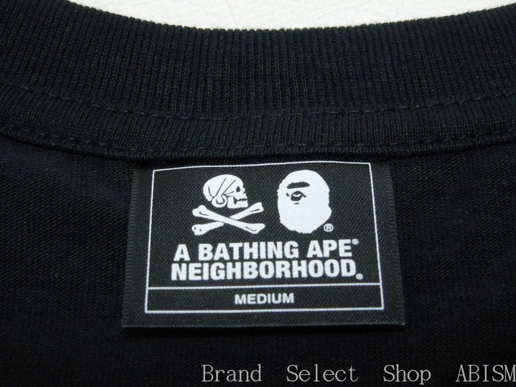 A BATHING APE (エイプ) x NEIGHBORHOOD (Ney bar Hood) BAPE NBHD TEE #1 (T-shirt) BAPE (ベイプ)