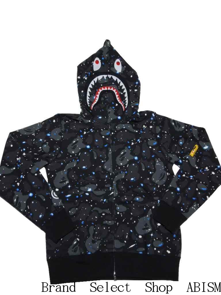 78ba0455 brand select shop abism: A BATHING APE (エイプ) SPACE CAMO SHARK FULL ZIP HOODIE  shark full zip parka BAPE (ベイプ)   Rakuten Global Market