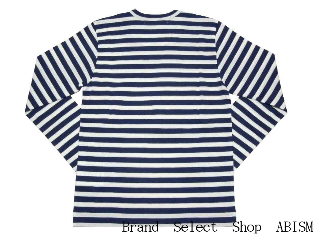 5b849086f7 I am proud of great popularity in コムデギャルソン. Horizontal stripe Ron TEE of  PLAY! Red of the chest and blue heart emblem. But, I am pointed.