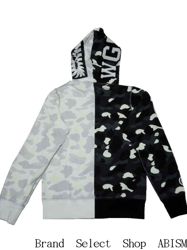 44cc6eaea950 Of A BATHING APE (アベイシングエイプ) Phosphorescence print (Glow in the Dark  specifications) which shines in darkness を is CITY CAMO シャークフルジップ ...