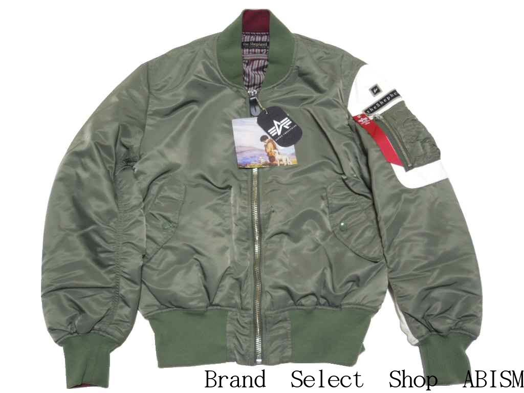 UNDERCOVER (under cover) the Shepherd (the shepherd) x fragment design  (fragment design) ALPHA MA-1 jacket  khaki  khaki   a new article-free  0382bd5b072b