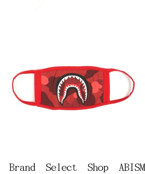 A BATHING APE(eipu)COLOR CAMO SHARK MASK(鲨鱼口罩)BAPE(beipu)