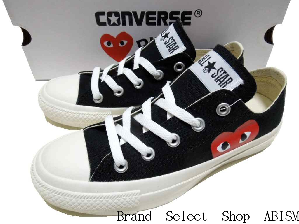 PLAY COMME des GARCONS (プレイコムデギャルソン) It is a collaboration sneaker of と  Converse. The heart mark that is an icon of PLAY in the side be3853f52e35