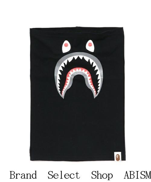 【代引き不可】A BATHING APE(エイプ)SHARK TURBAN(シャークターバン)NECK WARMER(ネックウォーマー)【ブラック】【新品】BAPE(ベイプ)
