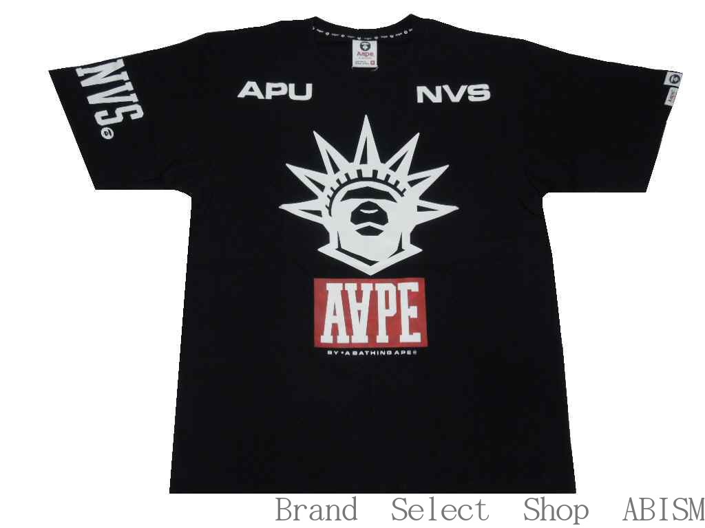 AAPE BY A BATHING APE (エーエイプバイベイシングエイプ) AAPE NEW YORK CITY THEME TEE   black   Tshirt T shirt   new article  fbed6e8dd7d4