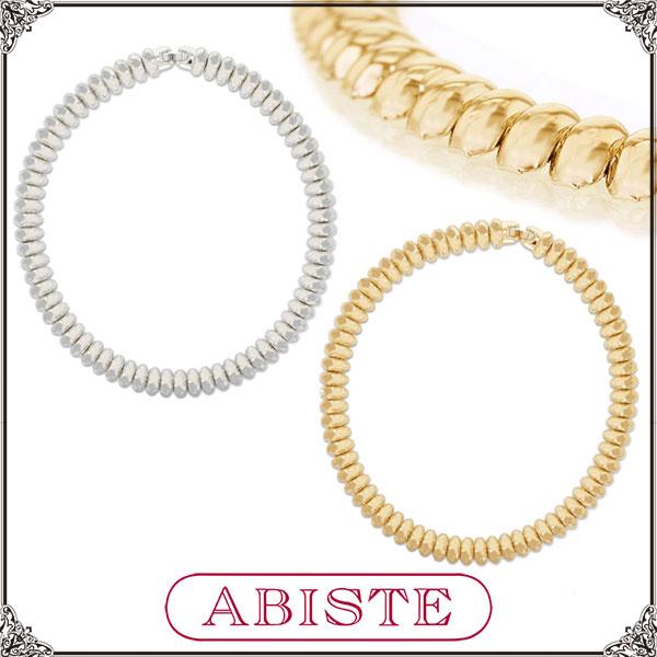 ABISTE(アビステ)GINGERmirror1510掲載!メタルネックレス/シルバー、ゴールド 1150061 レディース 女性 人気 上品 大人 かわいい おしゃれ アクセサリー ブランド 誕生日 ギフト プレゼント ラッピング無料