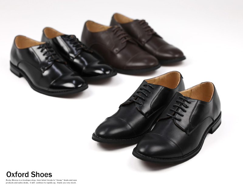 Oxford shoes men shoes fake leather dress shoes black black plain fabric Shin pull casual business きれいめおしゃれ ceremonial occasion 8350