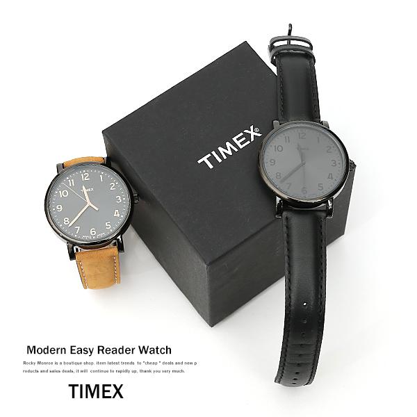 Watches mens TIMEX Timex easy reader T2N346 T2N677 analog MODERN EASY READER 4595