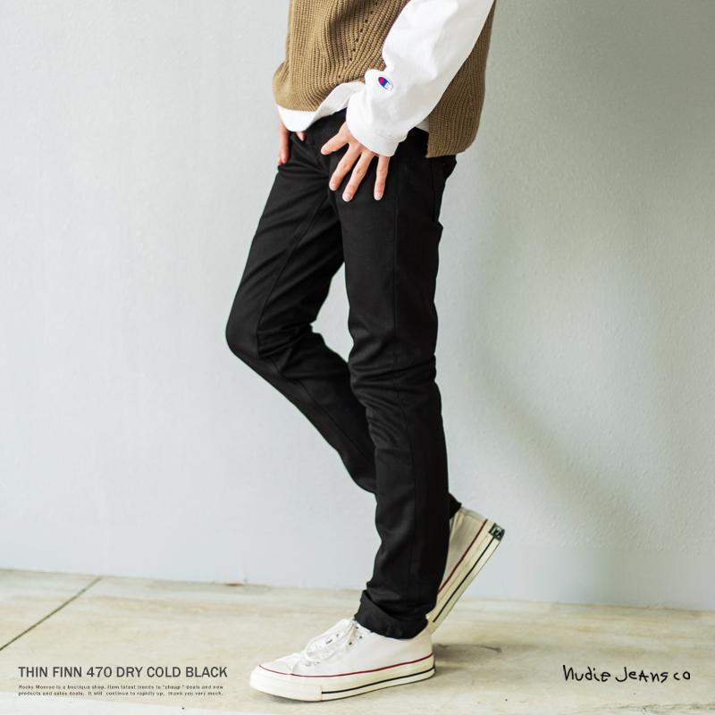 楽天市場 nudie jeans ヌーディージーンズ thin finn シンフィン 470