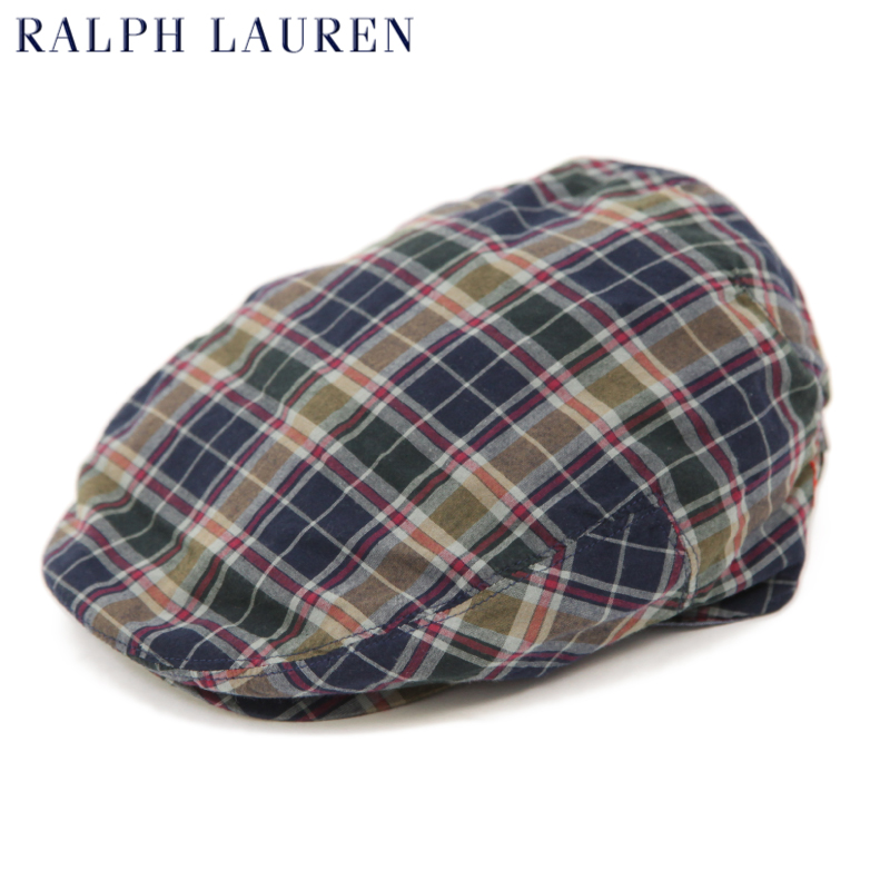 Polo by Ralph Lauren Madras Driving Cap US폴로랄프로렌 마드라스 헌팅 캡