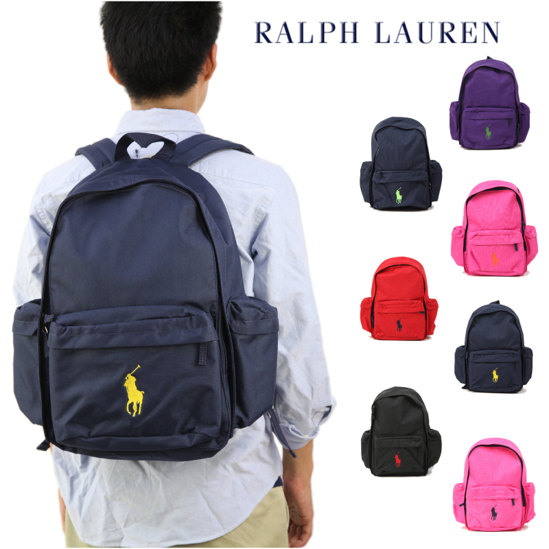 abjnuts  Ralph Lauren  quot BIG PONY quot  School Backpack US Ralph ... a1598591271b3