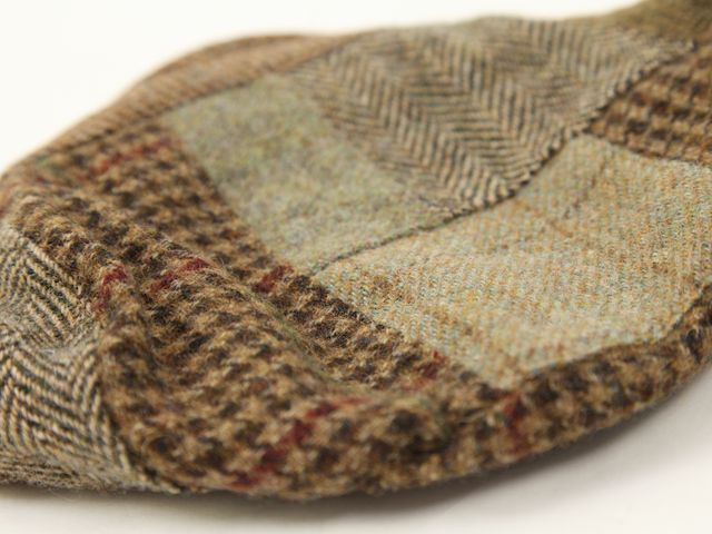 Polo by Ralph Lauren Patchwork Tweed Driving Cap US Polo Ralph Lauren patchwork Tweed driving Cap