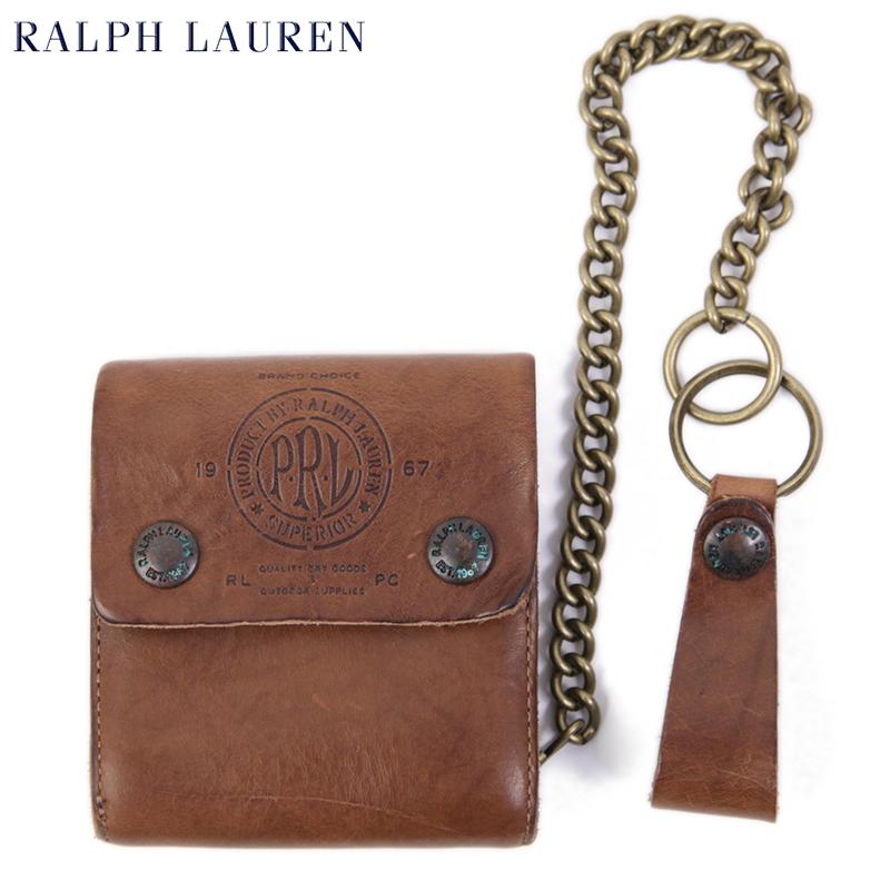 POLO Ralph Lauren CHAIN WALLET US ポロ ラルフローレン レザー ウォレット 財布
