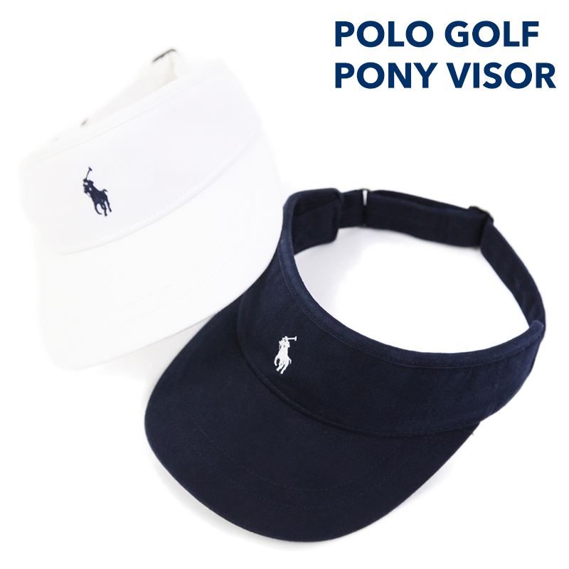 POLO GOLF by Ralph Lauren Pony Visor US폴로랄프로렌 선 바이저 캡