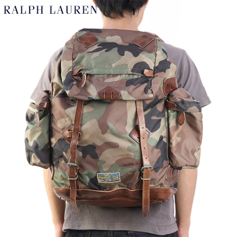 POLO Ralph Lauren Nylon Utility Backpack US ポロ ラルフローレン バックパック