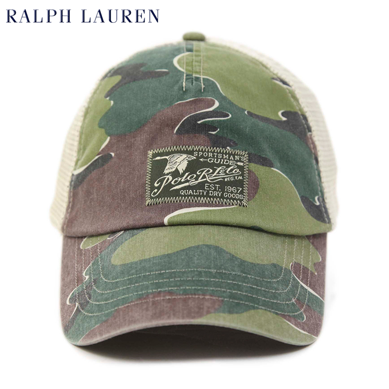 abjnuts  Polo by Ralph Lauren Mesh Baseball Cap US Polo Ralph Lauren ... 1d434ba4692