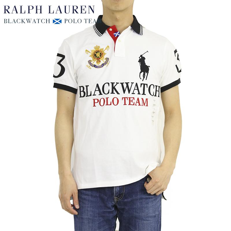 ポロ ラルフローレン メンズ カスタムフィット ブラックウォッチ ポロチーム ポロシャツ POLO Ralph Lauren Men's