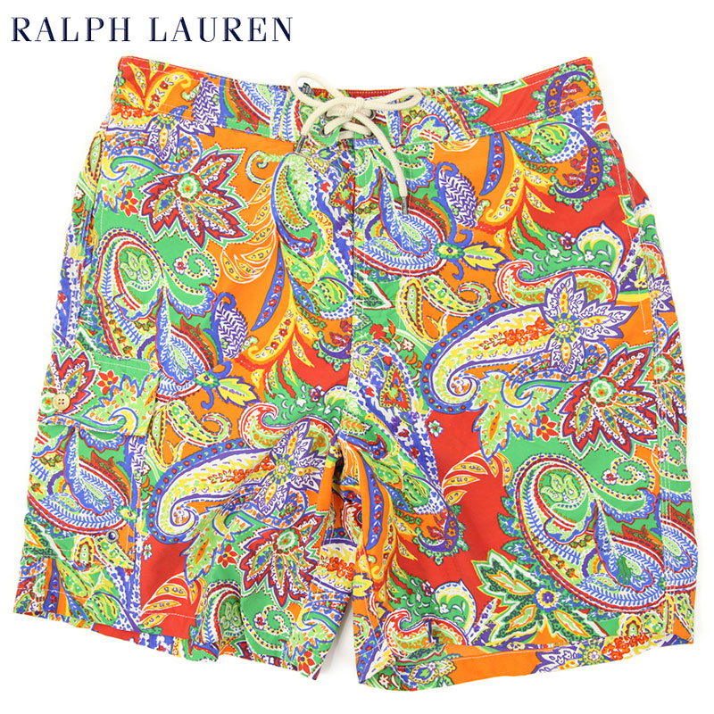 3c29676b93581 abjnuts: Ralph Lauren Men's Paisley Swim Shorts US polo Ralph Lauren ...