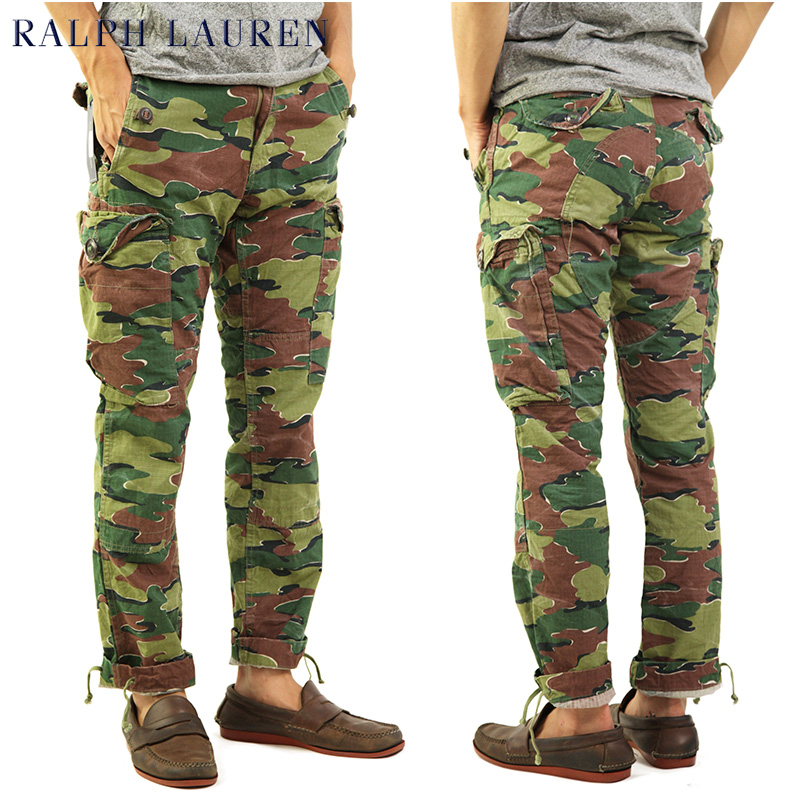Polo by Ralph Lauren Men\u0027s Cotton Cargo Pants ...