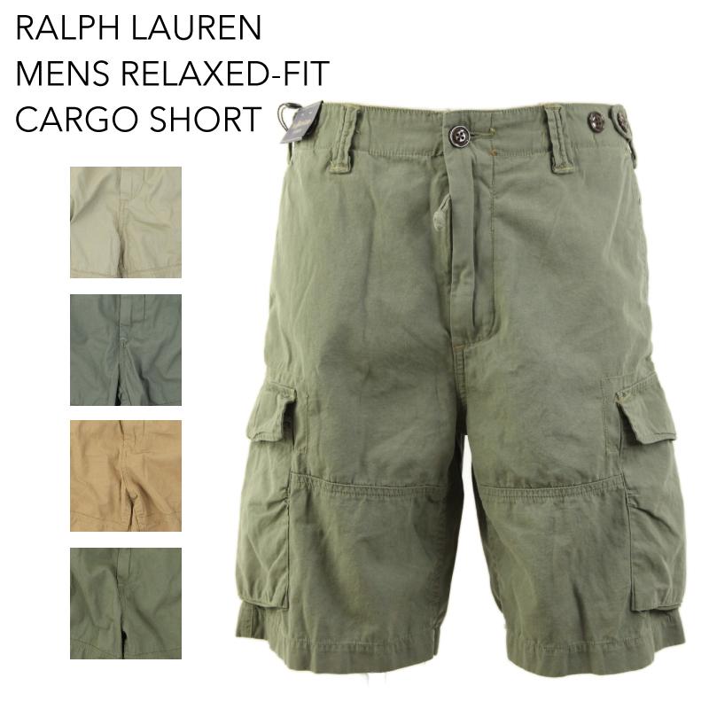 c0a15173 Ralph Lauren Men's Relaxed-Fit Cargo Short US Polo Ralph Lauren cargo sorts  shorts shorts