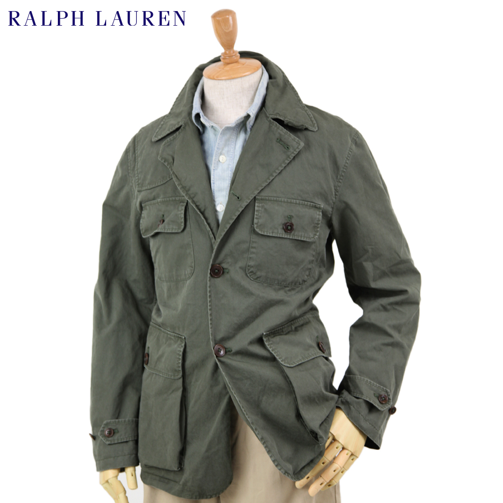 Abjnuts Ralph Lauren Men S Cotton Safari Jacket Us Polo Ralph