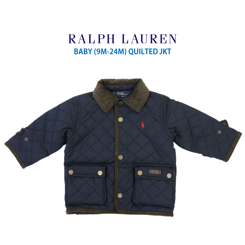 33e9a8c38caa abjnuts  Quilting jacket of the (9M-24M) POLO by Ralph Lauren  quot ...
